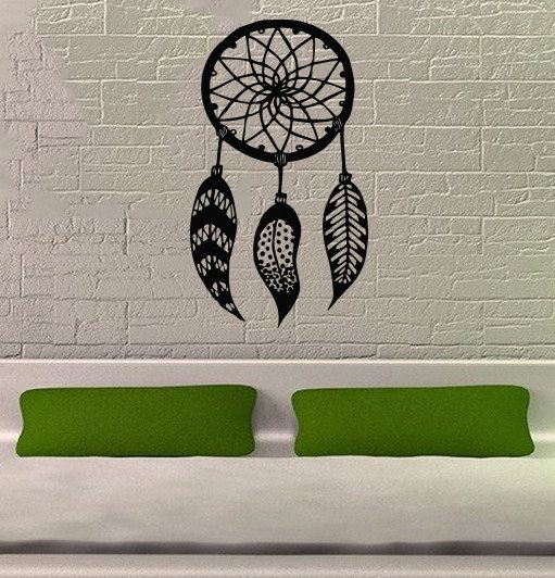 Dreamcatcher Dream Catcher Feathers Housewares Wall Vinyl Decal