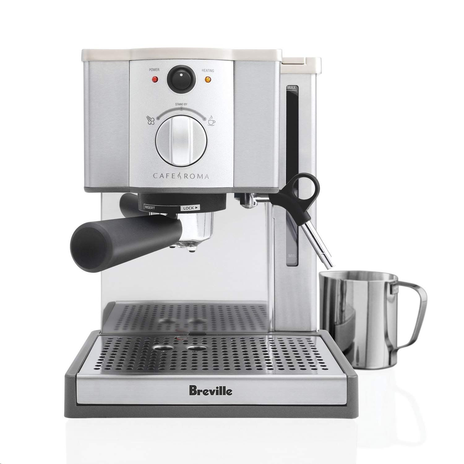 Breville Cafe Roma Black Friday Sale And Review 2019 Breville Cafe Roma Espresso Machine Best Espresso Machine Breville Espresso Machine