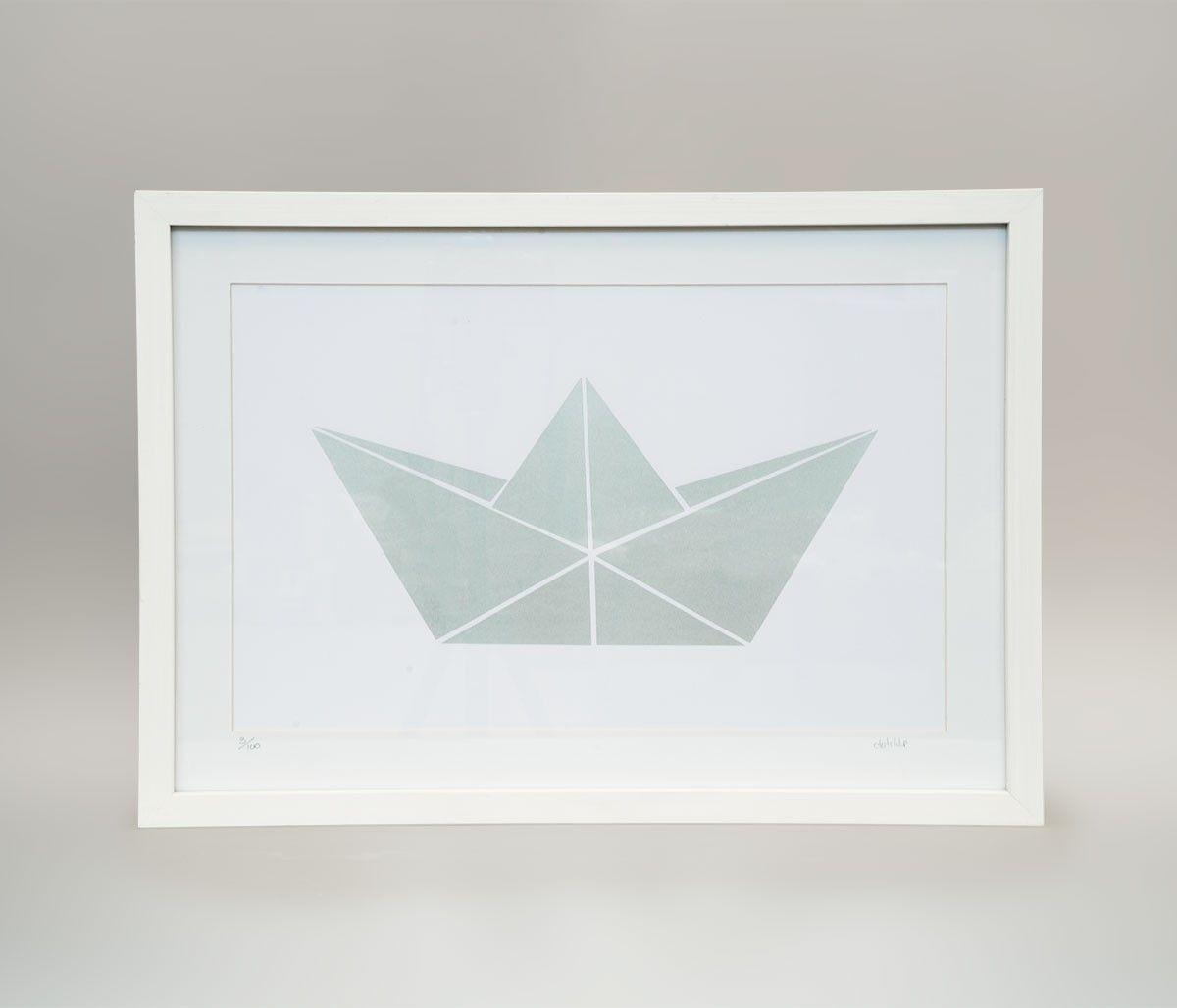 Un cuadro con un barco de papel muy bonito en http www - Cuadros muy bonitos ...