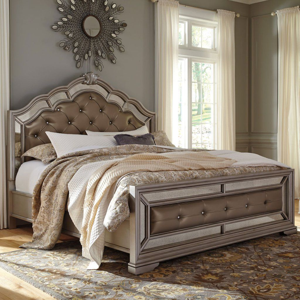 Birlanny Silver Upholstered Panel Bedroom Set B720 57 54: Easy DIY Headboard Ideas You Should Try In 2018
