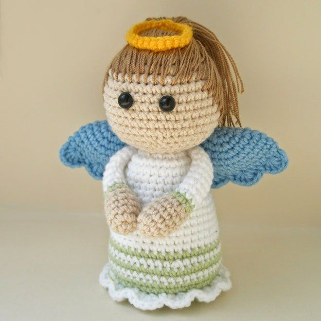 angel crochet amigurumi free pattern - Ngel Muster Selber Machen