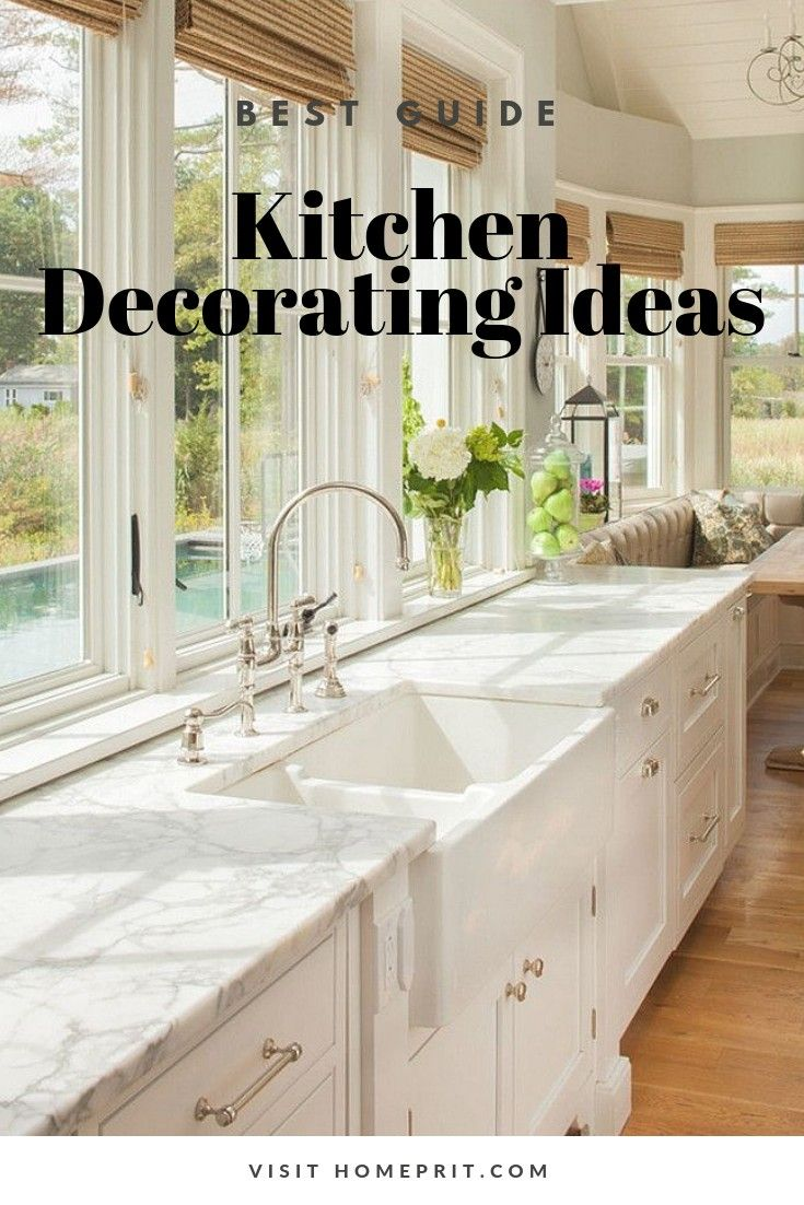 Kitchen Soffit Decorating Ideas