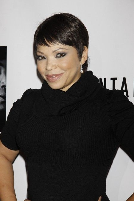 Tisha Campbell-Martin, 47, and her husband Duane, 50, who filed