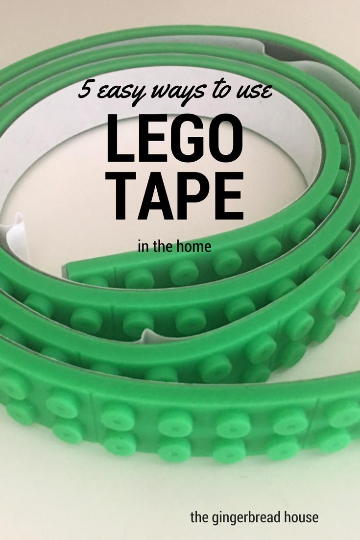 5 Ways To Use Lego Tape Lego Lego Used Legos Lego Building