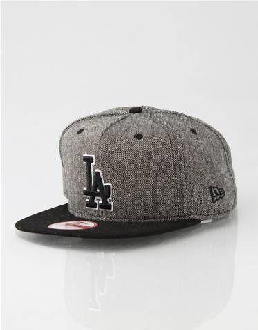 LA Dodgers A-Frame Tweed New Era Snapback Cap  1b48f796e46