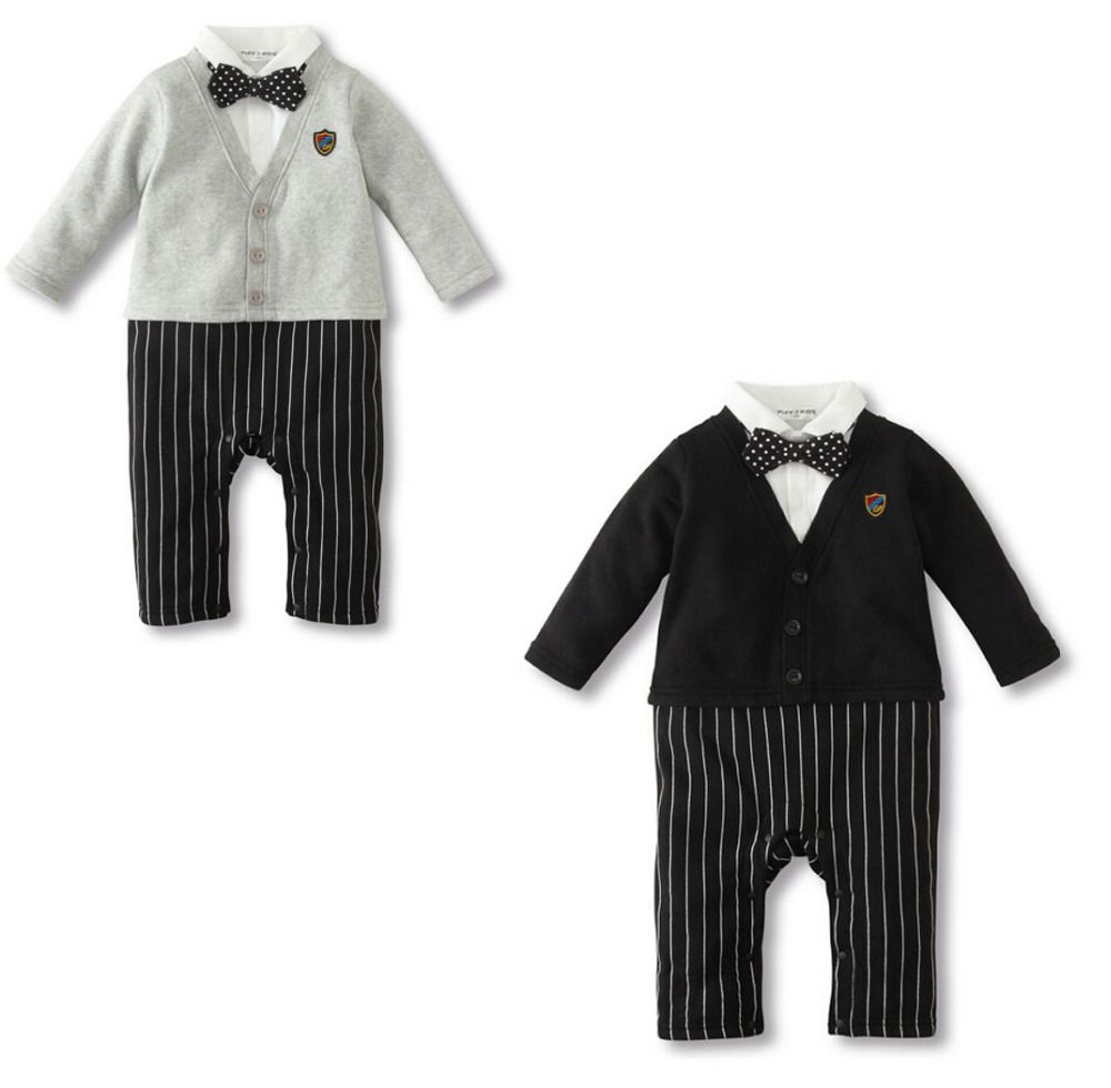 1e13b60bd0f7 Click to Buy    Hot New Newborn Baby Boys Cotton Rompers Clothing ...