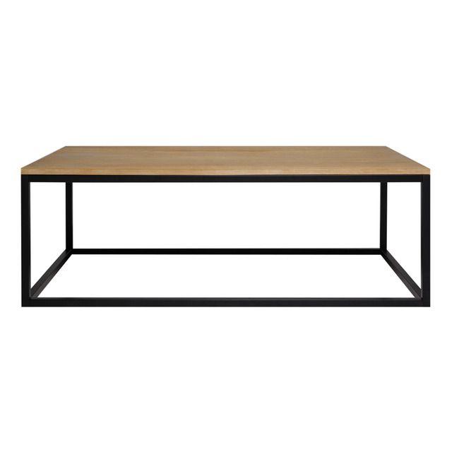 Mesa de centro el corte ingl s lumina curioso en madera for Mesas de cocina plegables el corte ingles