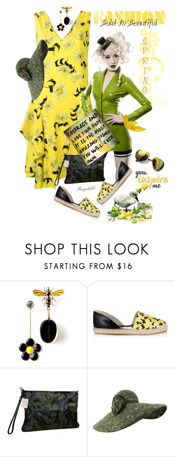 """""""Yellow Dress In La La Land"""" by ragnh-mjos ❤ liked on Polyvore featuring Belli, Jimmy Choo, contest, outfit and yellowdress"""