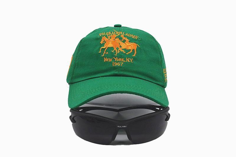 ab0a90340b4 3 Strap Back Adjustable Cap - Green. Mens   Womens Polo Ralph Lauren Dual  Match Horse Logo Sports Fashion Golf ...