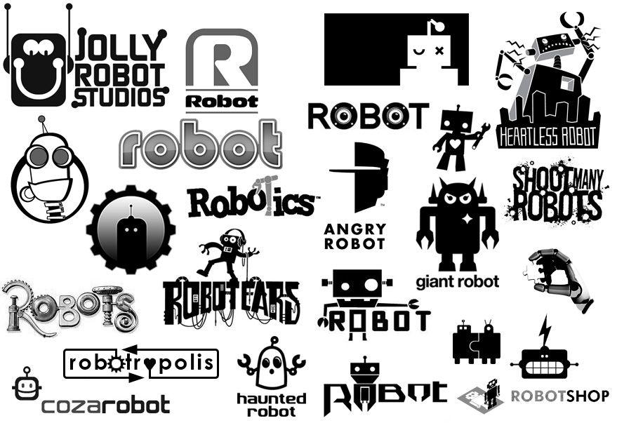Robotics Logo Robo Robotic Science Robot Logo Logos Logo