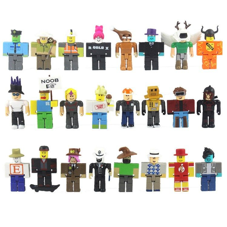 Roblox Figure Toys Games Action Figures Collectibles On 24pcs Set Roblox Toys Pvc Roblox Game Model Heroes Of Robloxia Doll Toys Figuras Roblox Figma Juguetes Ultimate Collectors Set 24pcs Roblox Toys Game Mode