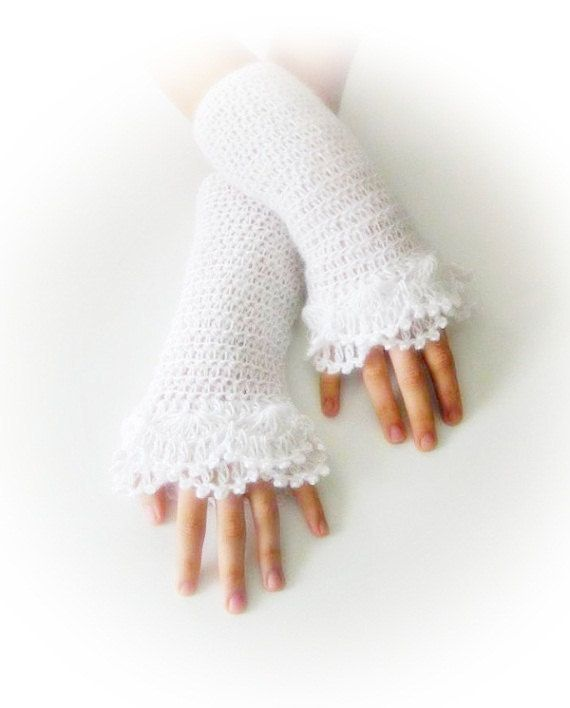 Christmas Winter Gift Evening wear Long Fashion Fingerless Sparkling Gloves