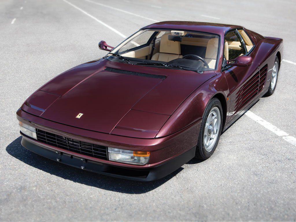 testarossa Rosso Metallizzato 1984