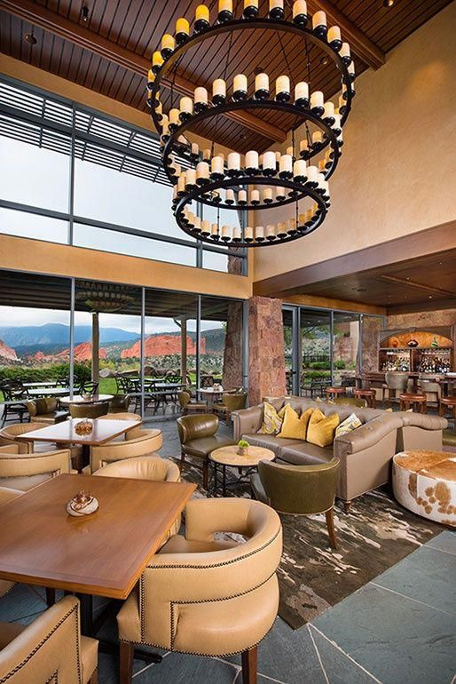 Interior design   rising giants fees salaries duncan miller ullmann ranked project garden of the gods club and resort also rh pinterest
