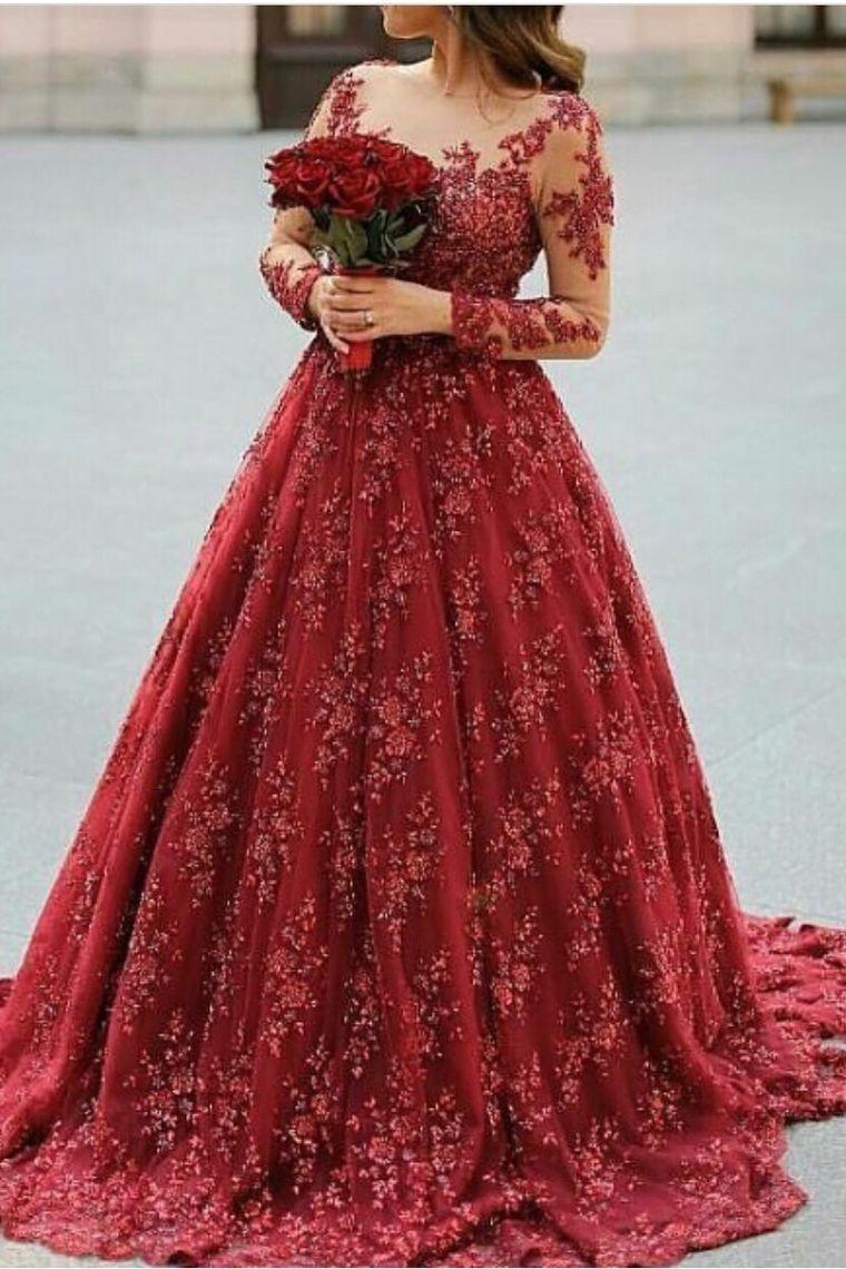 evening dress a line prom dresses scoop court train lace long