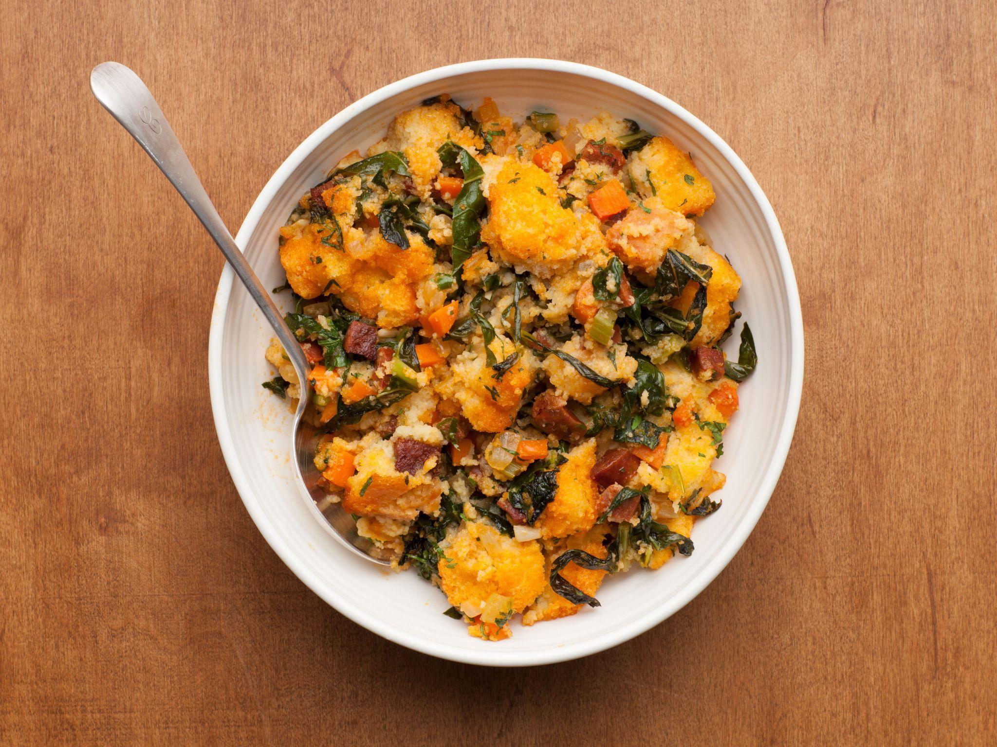 Pats chorizo and collard green dressing recipe collard greens dinner ideas forumfinder Images