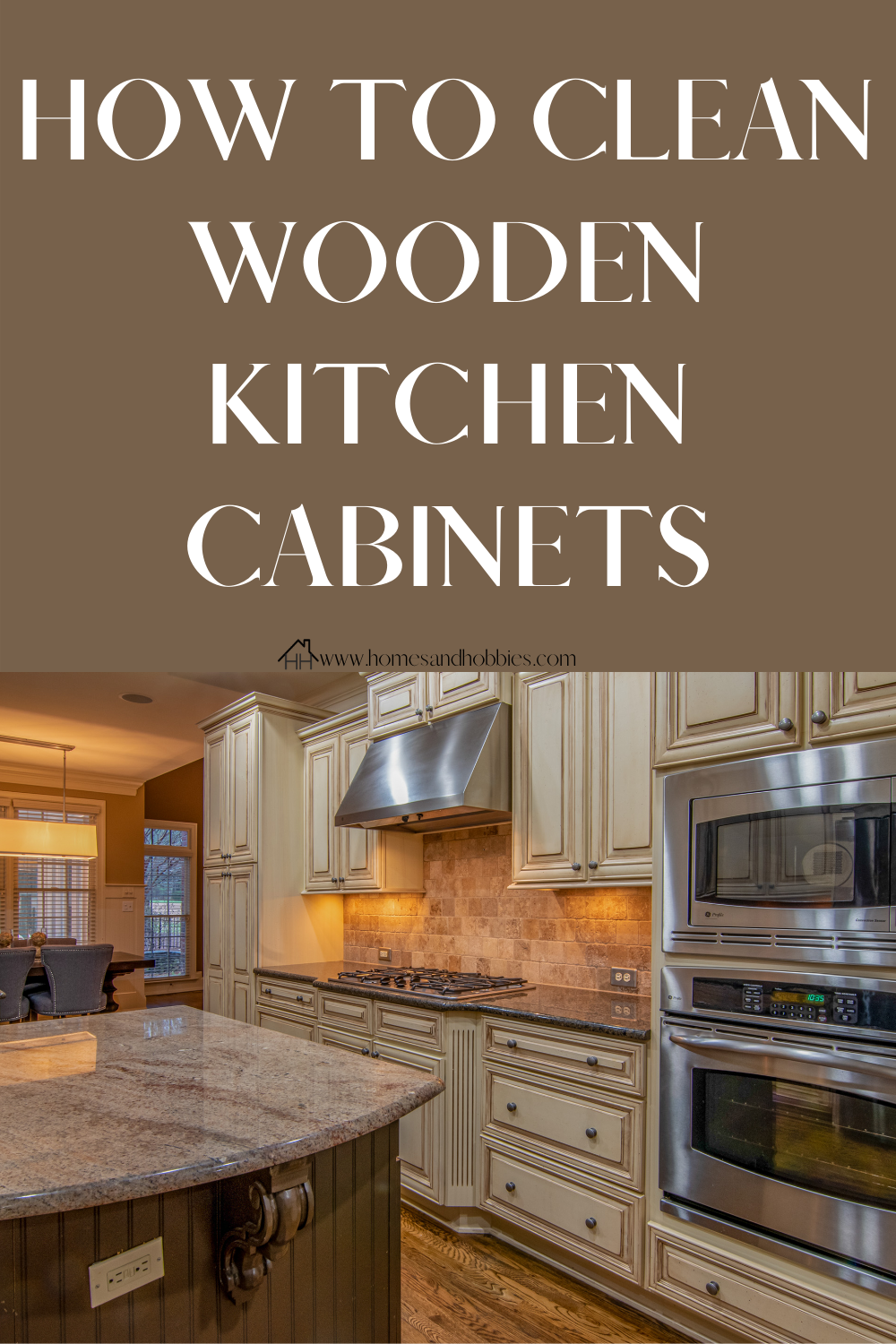 How To Clean Greasy Kitchen Cabinets Homes And Hobbies In 2020 Kitchen Cabinets Wooden Kitchen Cabinets Wooden Kitchen