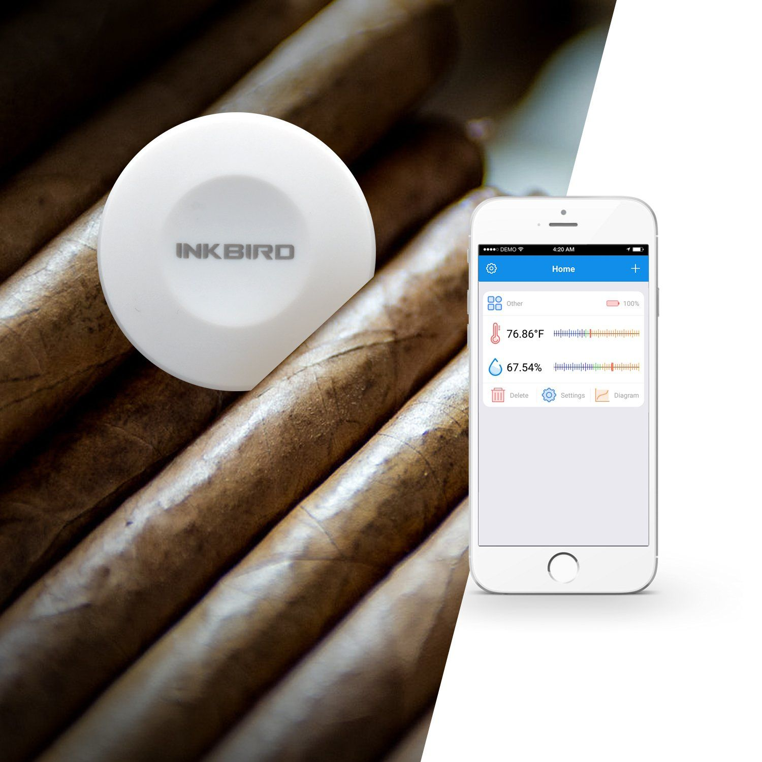 Inkbird Smart Sensor Data Logger Temperature and Humidity