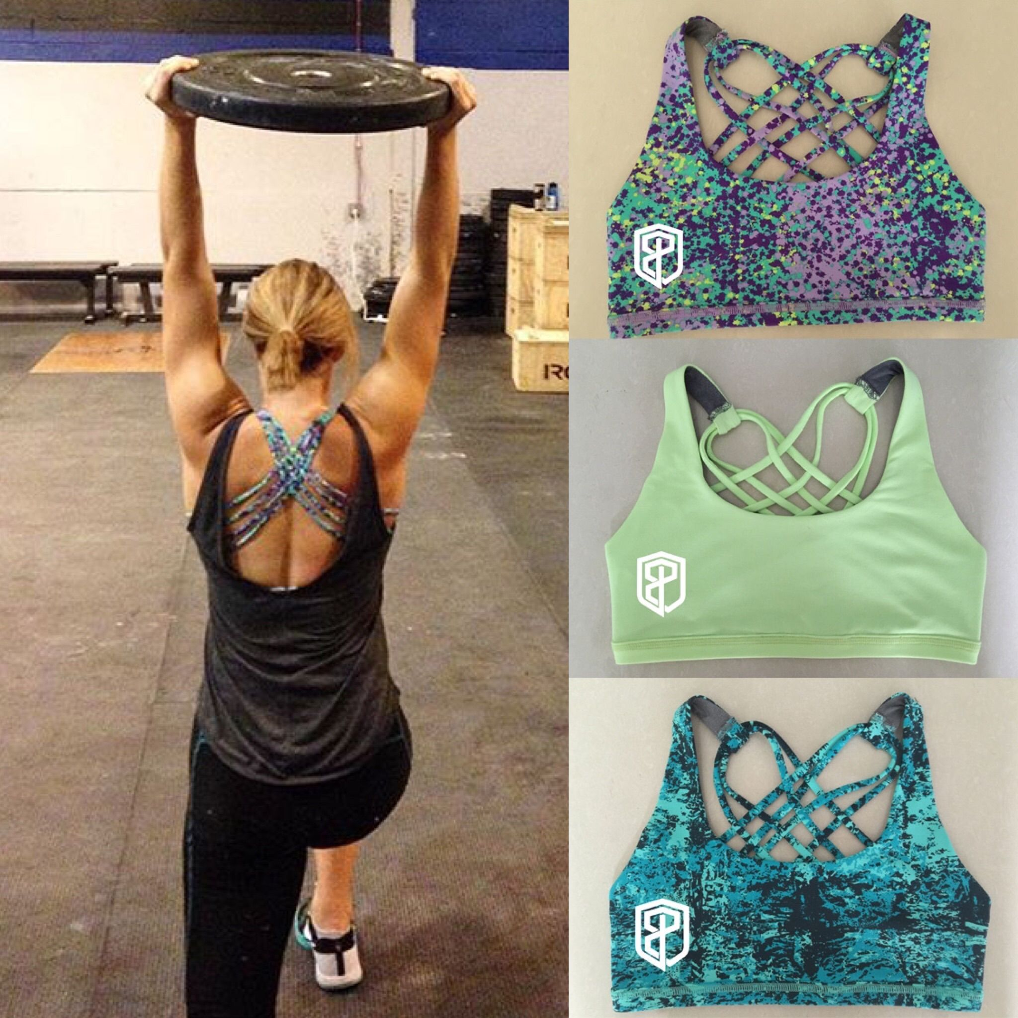 db5d3472998f8 Adorable Sport Bras by Born Primitive - cheaper and similar to LULULEMON  free to be wild bras