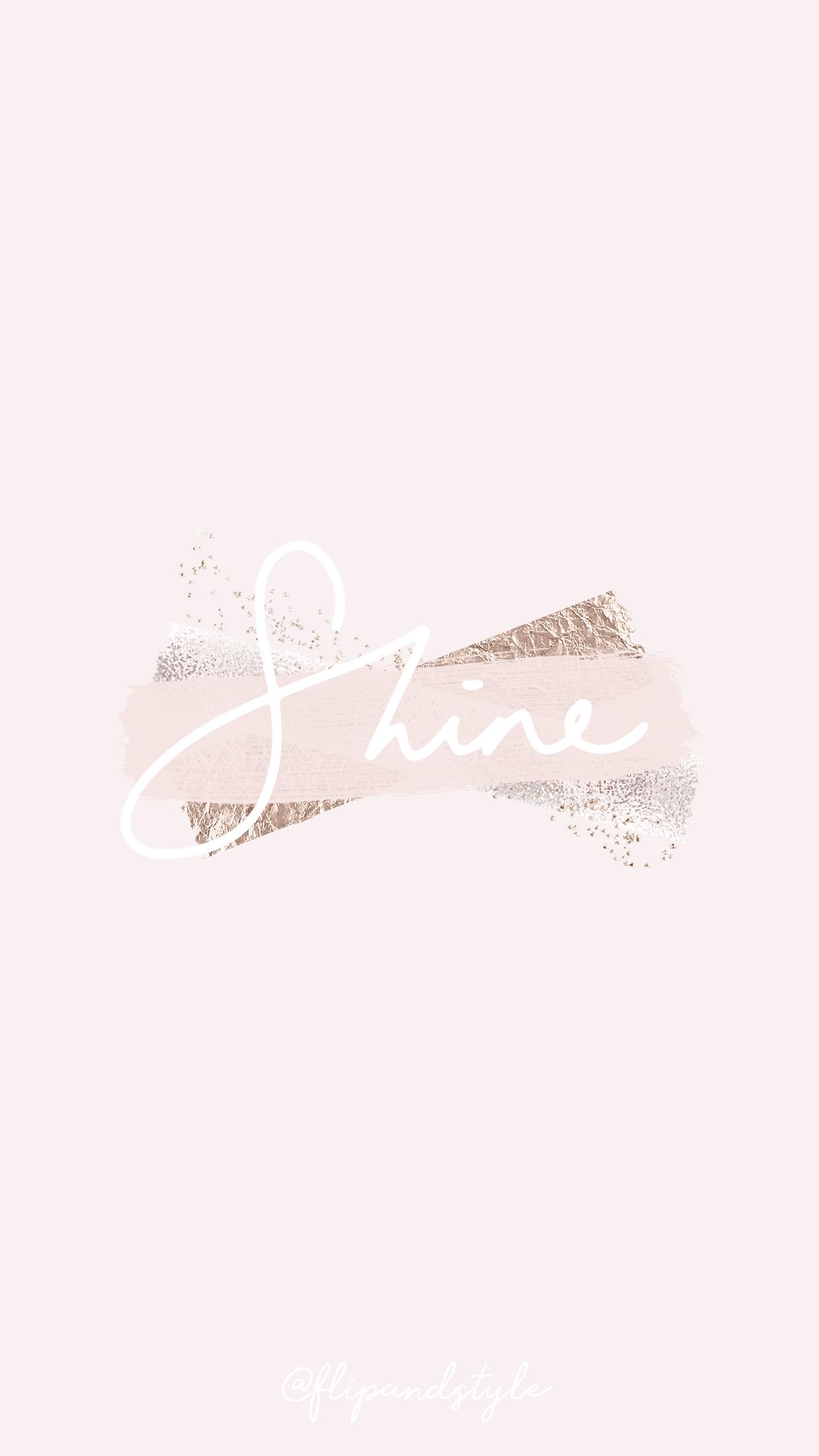free blush pink iphone wallpaper