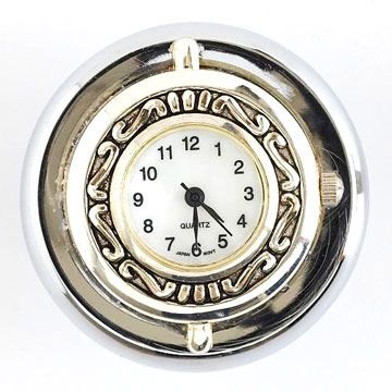 Timeless  drawer knob.An old watch could come in handy.