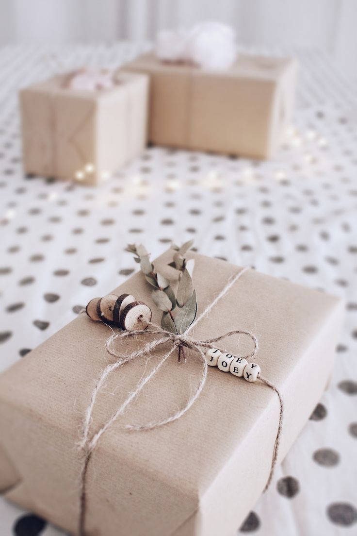 DIY Geschenke verpacken - 3 kreative Ideen um Geschenke zu verpacken #geschenkeverpacken