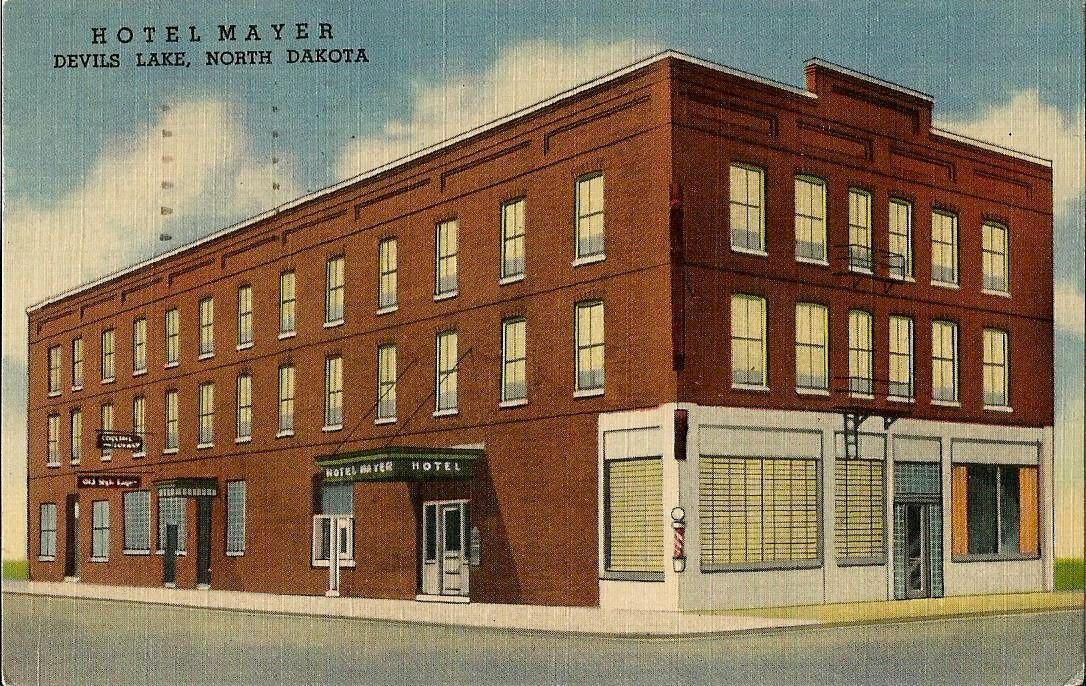Hotel Mayer Devil S Lake North Dakota