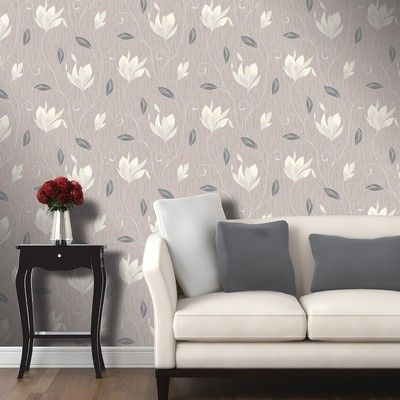 The Synergy Taupe Luxury Vinyl Wallpaper from Vymura