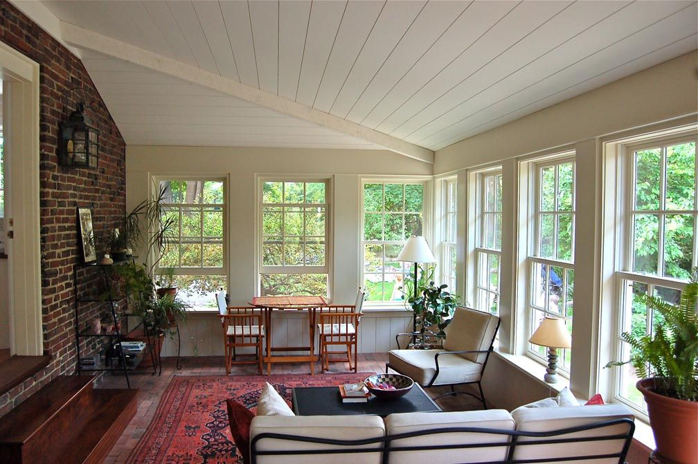 Amazing Interior Sunroom Windows 35 58 X 64 7/8 Via Gulfshore Design