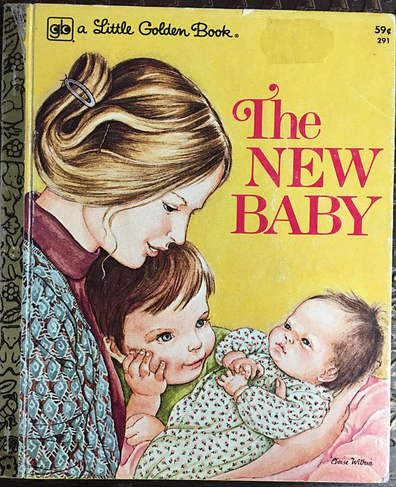 New Baby #291 A Little Golden Book Printed In The USA