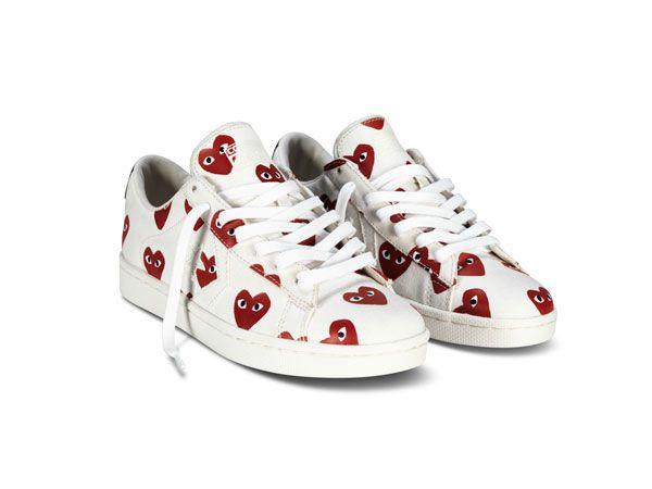 chaussure converse comme des garçons