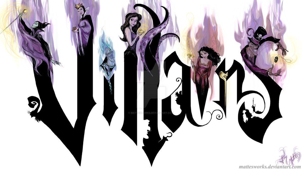 Disney Villains by MattesWorks on DeviantArt  Dessins disney