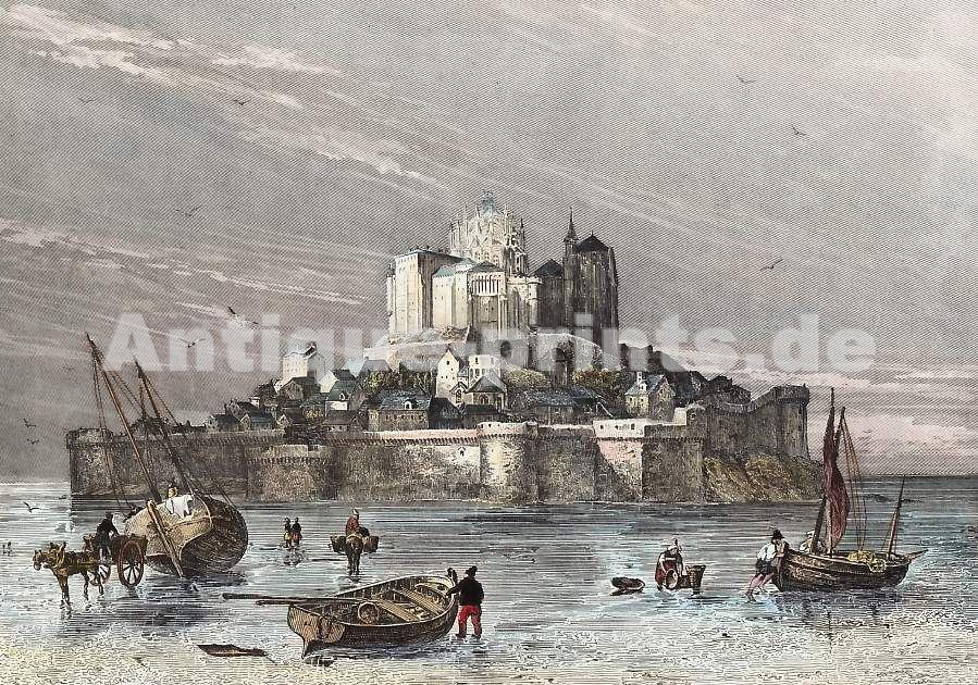 Le Mont St. Michel, E. Rouargue,  1838
