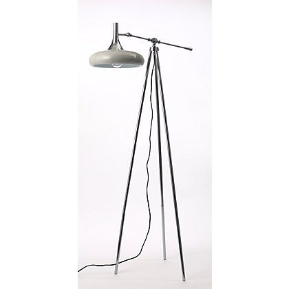 Metal head tripod floor lamp at homebase be inspired and make your house a