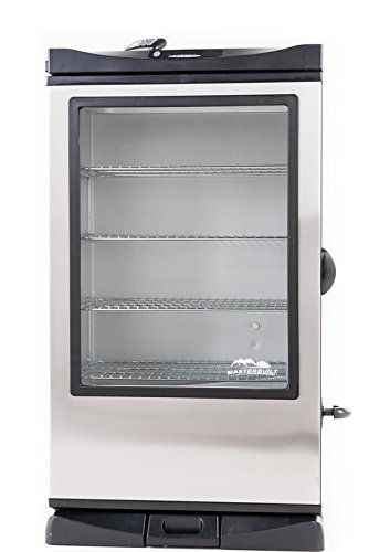 Masterbuilt 20075315 Front Controller Smoker With Viewing Window