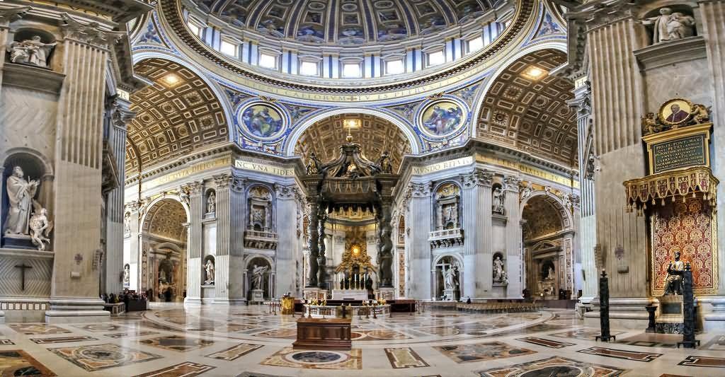 Cristianità — Basilica di San Pietro . Roma