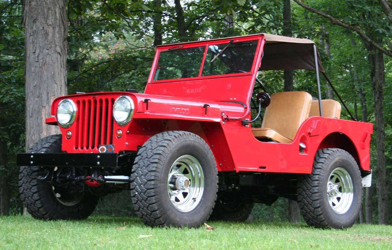 1947 Willyu0027s Jeep with soft top canopy & 1947 Willyu0027s Jeep with soft top canope | Jeeps my favorite and ...