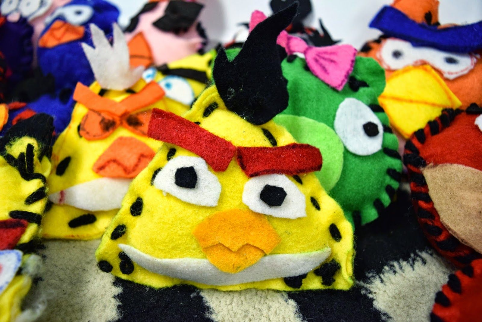 Angry Birds Pop Art Plushies 5th