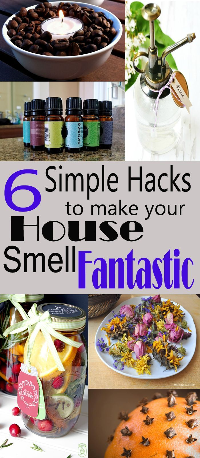 6 Simple Hacks to Make Your Home Smell Fantastic House