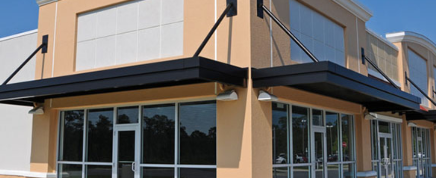 Motorized Retractable Awnings Are Convenient And Easily Deployed With Options Like Remote Controls Wind An Window Glass Replacement Awning Retractable Awning