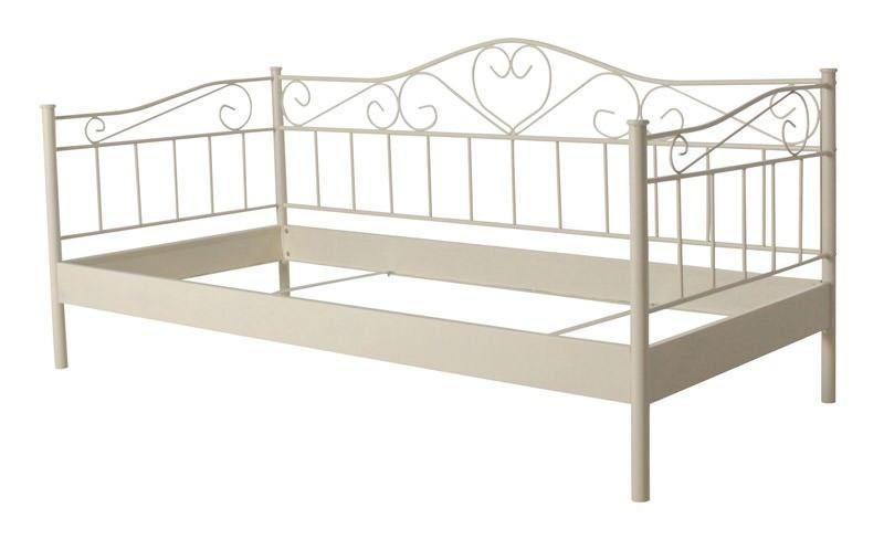 romantisk seng Princess seng   Romantisk cremehvid seng med jernramme. Sengen har  romantisk seng