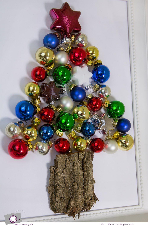 XMAS DIY: der Kugelbaum oder ein Tannenbaum aus Weihnachtskugeln ...