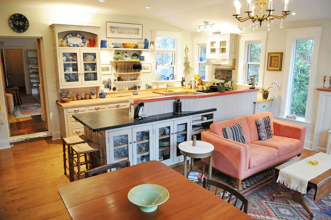 Image Result For Open Kitchen To Small Dining Room Living Room