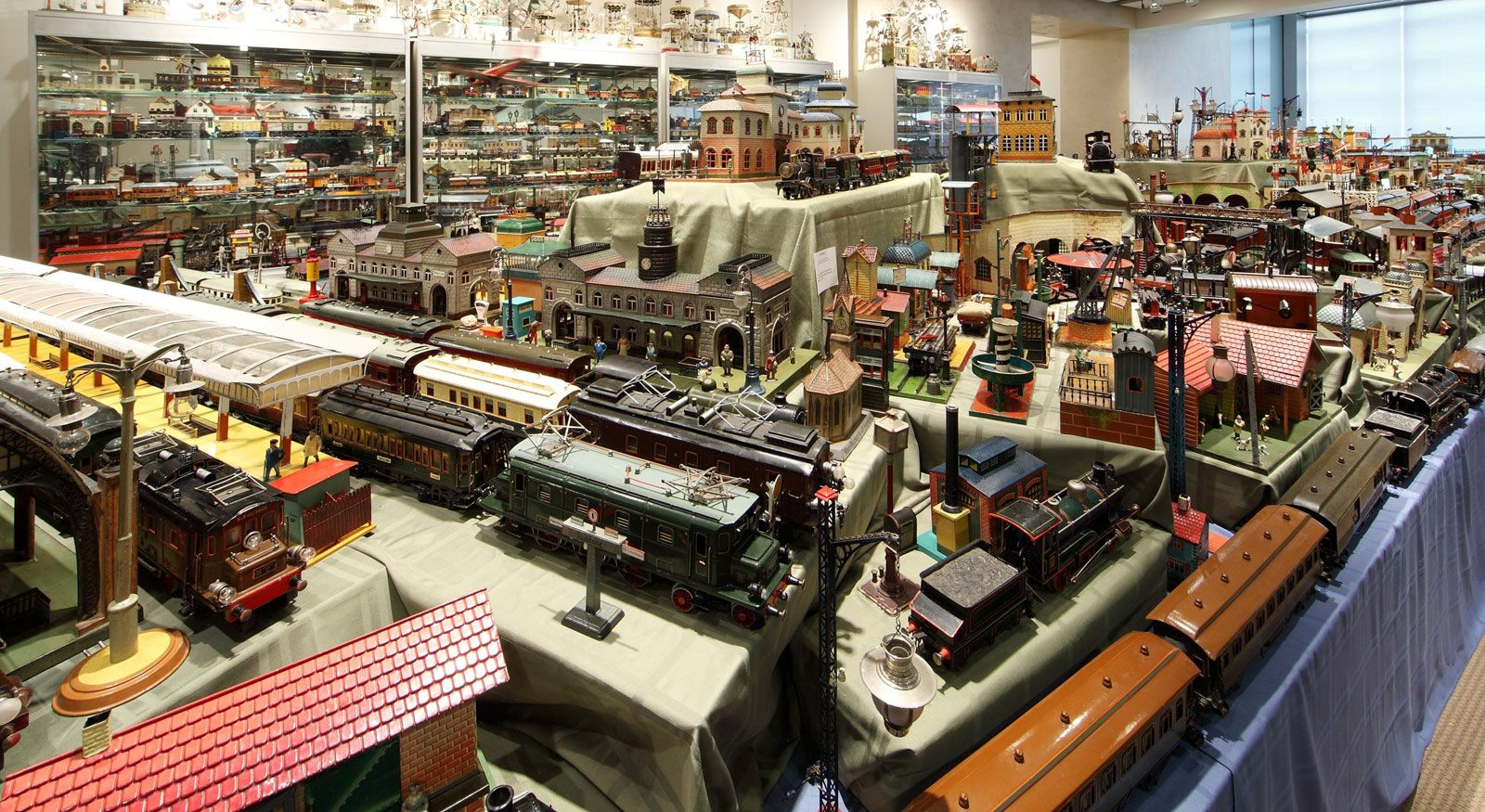 The World's Greatest Toy and Train Collection Reaches