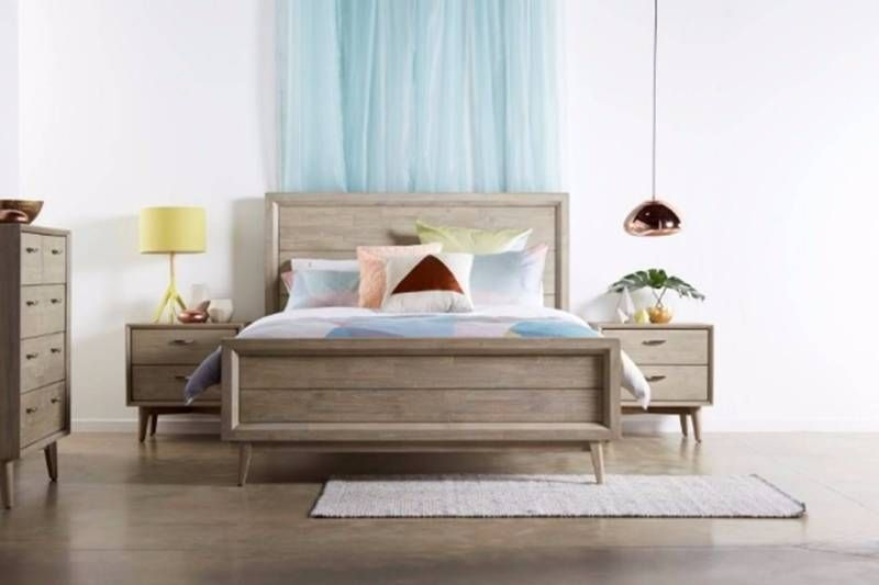 Hardwood Timber Belrose Queen Size Bed Frame Beds Gumtree Australia Melbourne City Melbourne Bedroom Sets Furniture Queen Bed Design Modern Bed Design