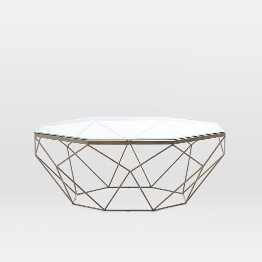 Geometric Coffee Table Geometric Coffee Table West Elm Coffee
