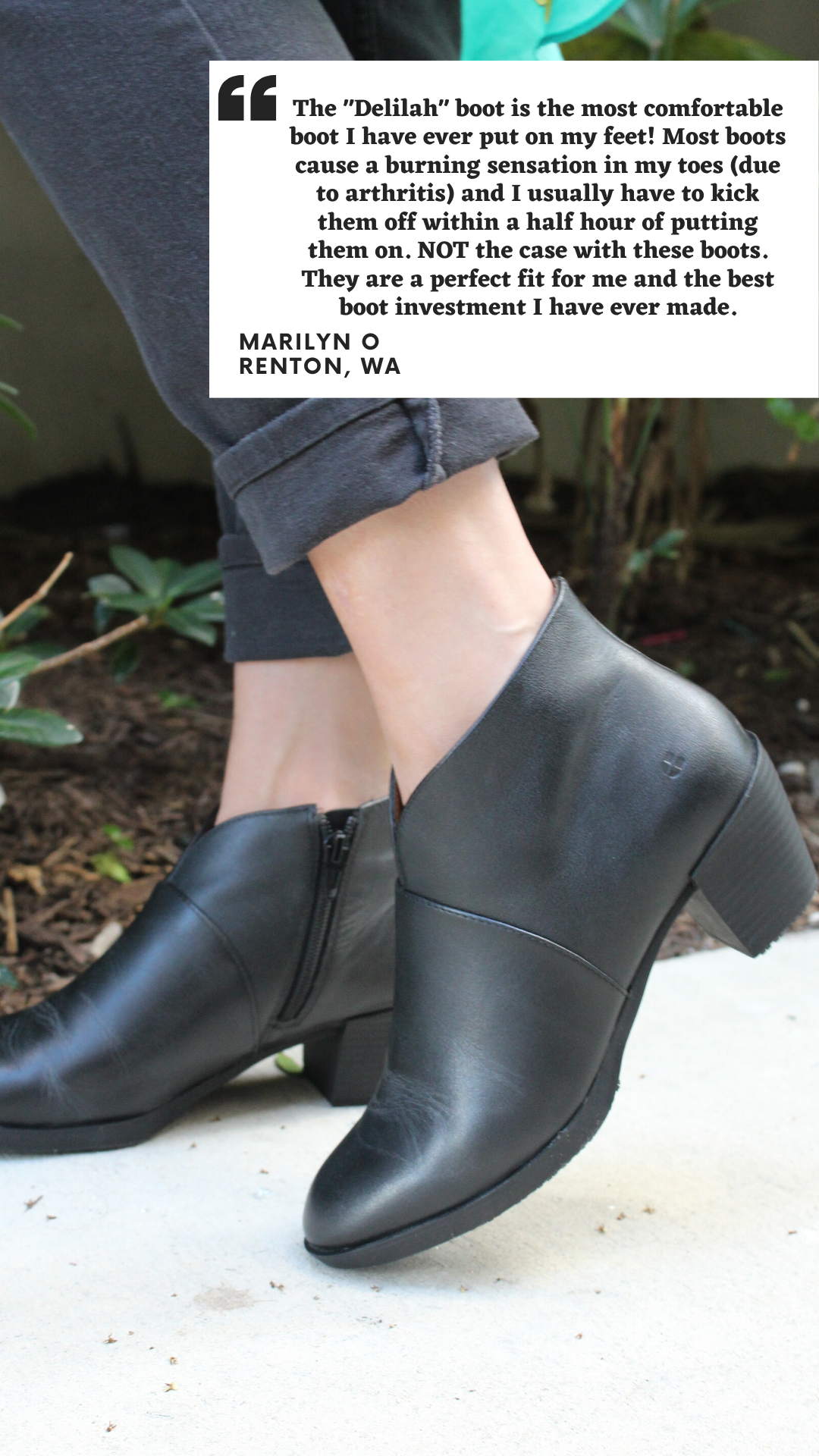 Delilah Black Women S Work Shoes Comfortable Boots Ladies Slips [ 1920 x 1080 Pixel ]