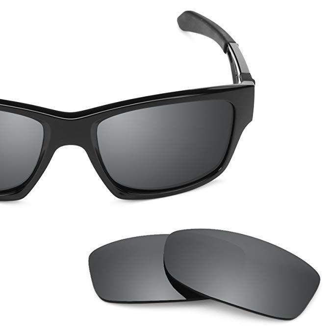 3d66117be2 Revant Polarized Replacement Lenses for Oakley Jupiter Squared Black Chrome  MirrorShield