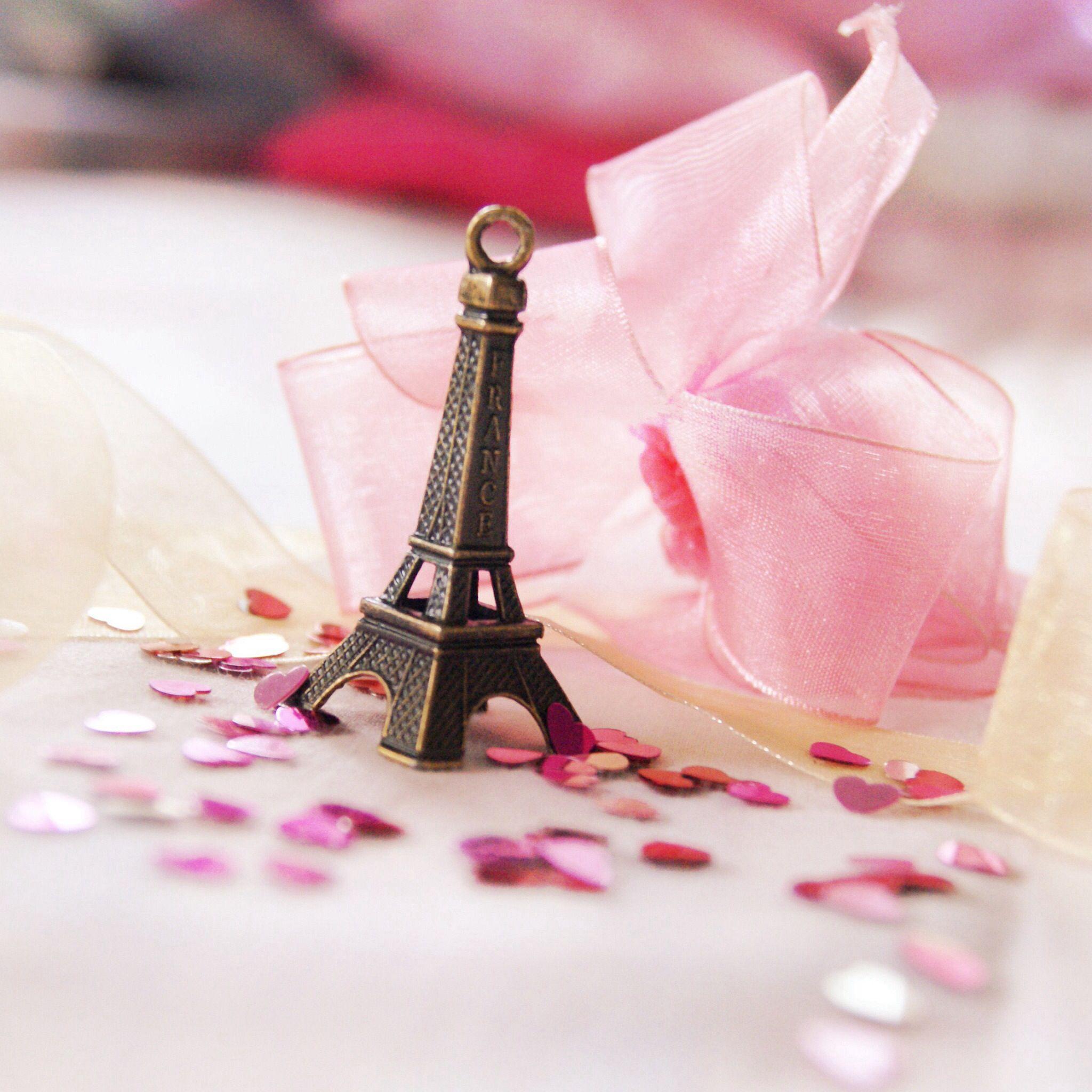 Paris Pink Cute Eiffel Tower Fondos De Pantalla Flores La Torre De Paris Imagenes De Fondo
