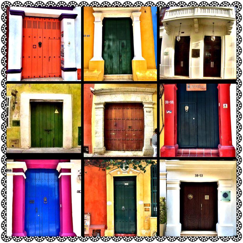 #cartagena #colorful #doors